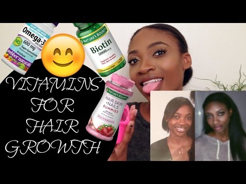 VITAMINS FOR FAST NATURAL HAIR GROWTH | HOW TO GROW NATURAL 4A 4B 4C HAIR