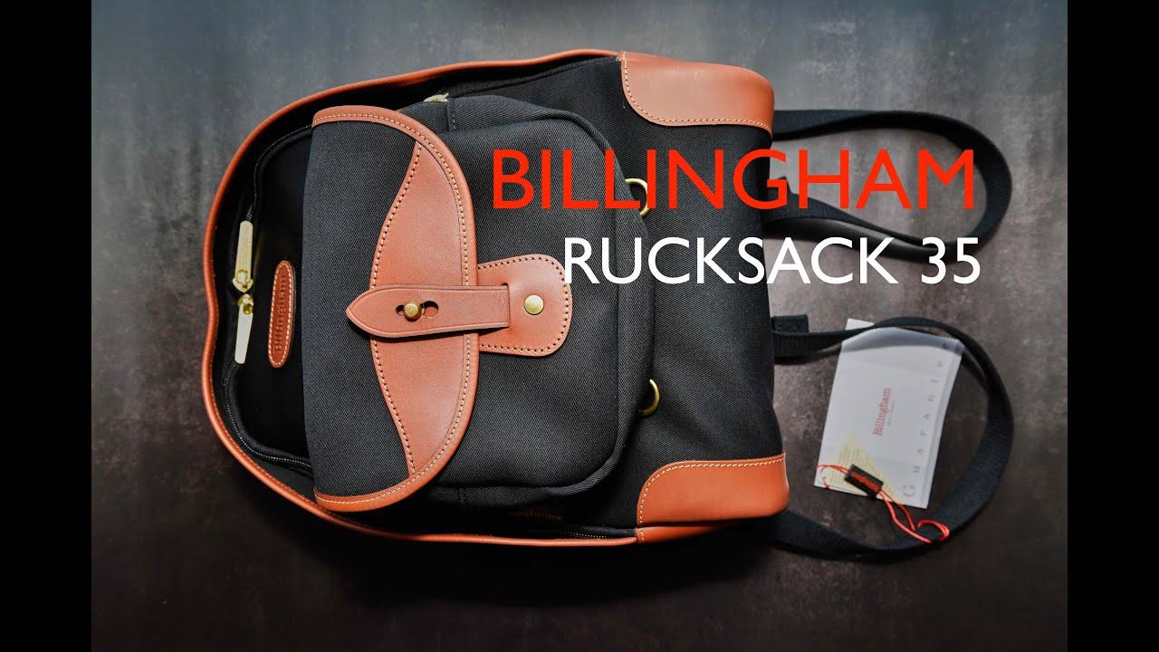 /Schwarz Billingham Rucksack 35/