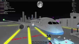 Roblox Aqua Airways Special 787 Flight [Full Server]