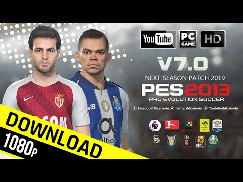 PES 2013 Next Season Patch 2019 Update v7.0 - Released 17.01.2019