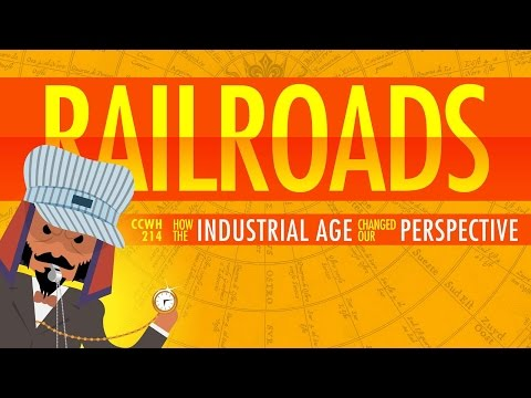 The Railroad Journey and the Industrial Revolution: Crash Co