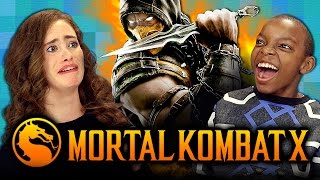 MORTAL KOMBAT X (Teens React: Gaming)