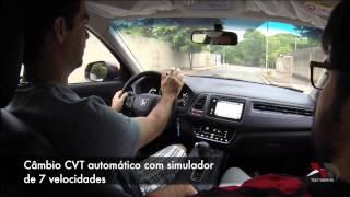 TDPE Honda HRV EXL CVT 2016 - Teste de rua (Phill)