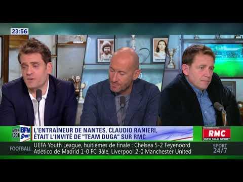 After Foot du mercredi 21/02 – Partie 4/4 - Claudio Ranieri était l'invité de Team Duga