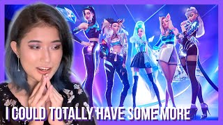 K/DA - MORE MV ft. Madison Beer, (G)I-DLE, Lexie Liu, Jaira Burns, Seraphine Reaction // LADY REI