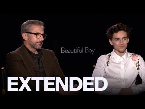 Timothee Chalamet Steve Carell Talk Message Behind 'Beautiful Boy'  TIFF18
