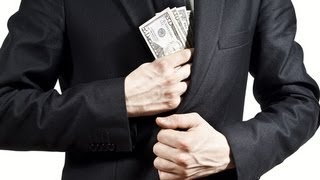 Did DOJ Chief Go After Bankers? Or Cash In? (Of Course!)