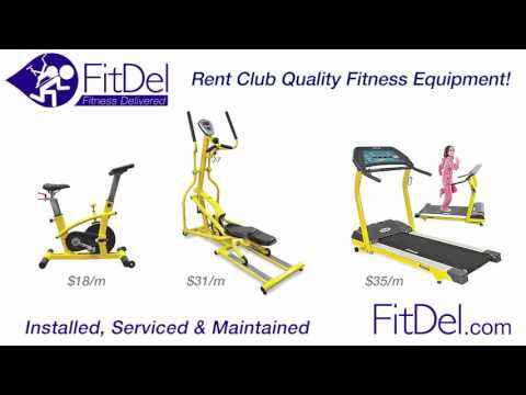 How To Rent Club Quality, Cardio & Weight Training Fitness Equipment. FitDel Is Fitness Delivered!