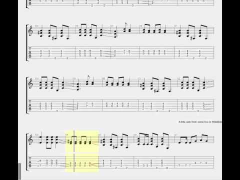 Metallica - One [Guitar Tab] - YouTube