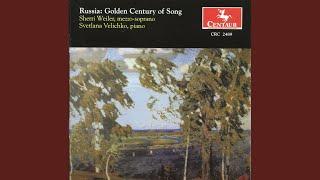4 Songs, Op. 42: No. 3. Redeyet oblakov letuchaya gryada (The …