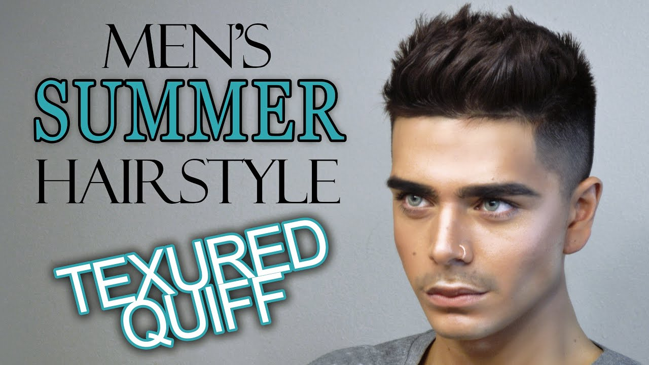 Textured QUIFF Mens Hairstyle Tutorial FT MISTER