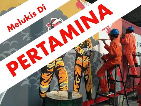 Mural Di PERTAMINA   (by Kuasgilak )