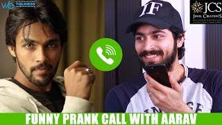 Harish Kalyan Cheats Aarav - Funny Prank Call and Latest Interview   Bigg Boss Tamil