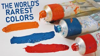 I Tested The RAREST Paints In History..(colors that no longer exist, the final episode)