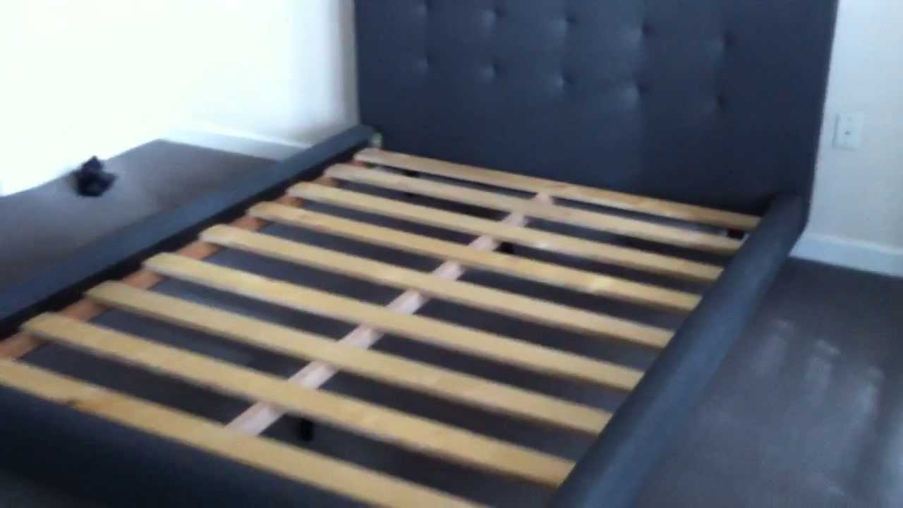 Design Tate Bed crate barrel tate bed assembly service video in dc md va by furniture experts llc youtube