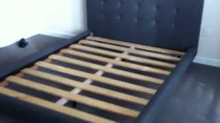 Crate Barrel Tate Bed Assembly Service Video In Dc Md Va By Furniture Assembly Experts Llc