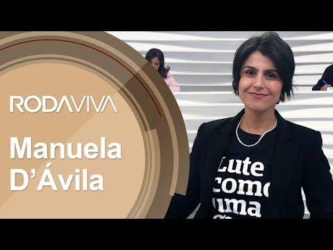 Roda Viva | Manuela D'Ávila | 25/06/2018