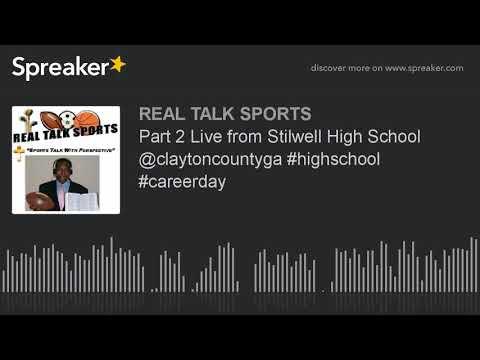 Part 2 Live from Stilwell High School @claytoncountyga #highschool #careerday