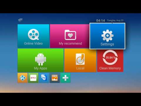 Setting up your Android box