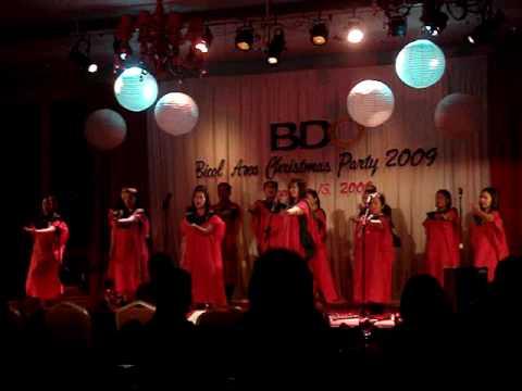 BDO IRIGA - BICOL CHRISTMAS PARTY 2009.MPG - YouTube