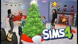 ROBIMY PORZĄDKI I STROIMY CHOINKĘ  The Sims 4