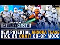 Battlefront Update | NEW AHSOKA Potential Tease + DICE's on Crait Co-Op + Patch Details