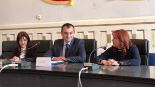 Prefect Mihaela Albu - la investirea subprefectului Monica Popescu
