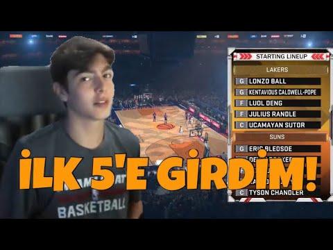 İLK 5'E GİRDİM - NBA 2K18 MyCareer
