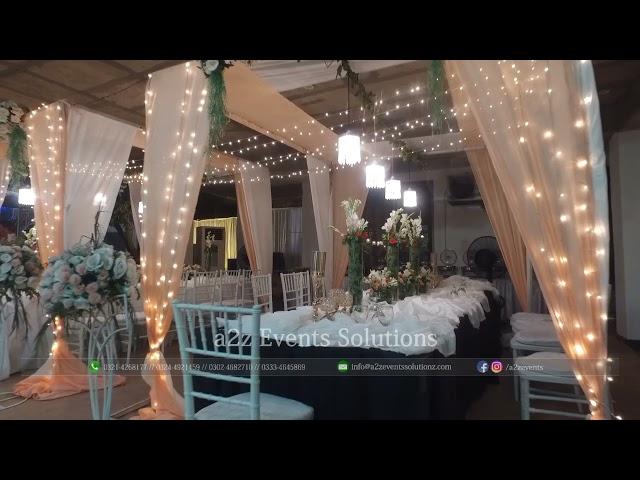 Covid wedding setup in lahore   Covid wedding decorations   Covid wedding, Home weddings ideas.