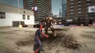 The Amazing Spiderman gameplay 60FPS