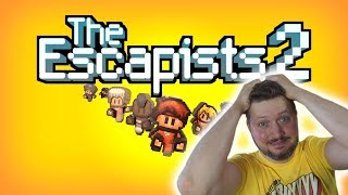 KAN VI FLYGTE?! - The Escapists 2 Dansk Ep 1