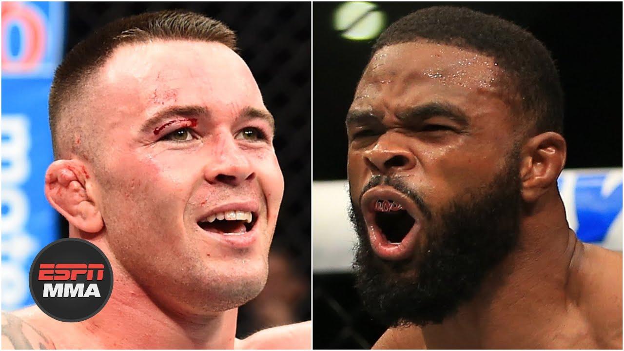 UFC Fight Night start time -- Colby Covington vs. Tyron Woodley ...