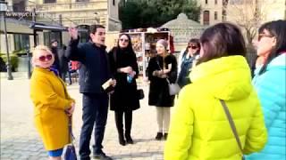 Поток российских туристов в Азербайджан