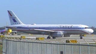 (4K) Early Morning Plane Spotting at Orlando International Airport