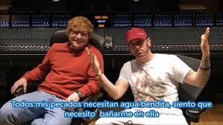 River Eminem ft Ed Sheeran Subtitulada en español