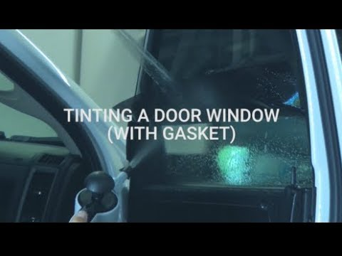 cc0256849b How To Install Precut Window Tint - With Gasket In