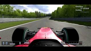 PS3 GT5(グランツーリスモ5) フェラーリF10でニュルブルクリンク北コース