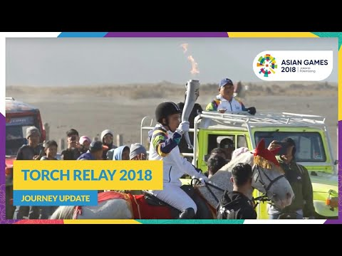 Torch Relay 2018 - Journey Update (Blitar - Malang - Bromo)