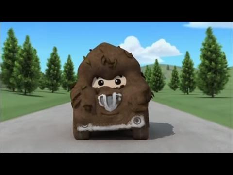 Робокар Поли - Приключение друзей - Грязнуля Спуки (мультфильм 50) Обучающий мультфильм для детей