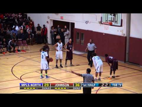 2014 Twin Cities Boys Championship: Mpls North vs. Johnson