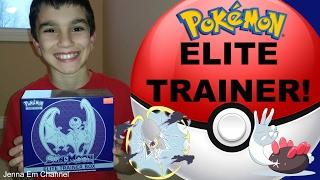 Pokemon Sun and Moon LUNALA Elite Trainer Box! Jenna Em