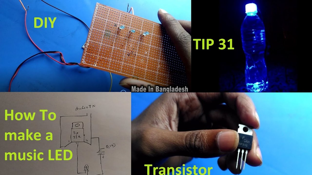 Make A Simple Music Strobe Led Project Tip 31 Ashiqs So The Leds Are Not Over Driven 555 Ic Projects And 4017ic Theory