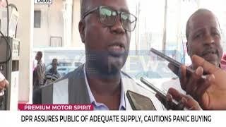 DPR assures public of adequate supply, cautions panic buying