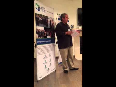 Alan Wolk, JNF co-president speaks to major donors