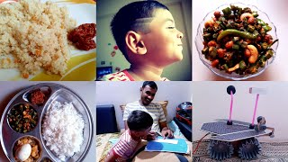 #vlog #diml Our Parenting style || What is in glamego|| Happy family vlog || Bendi fry in telugu