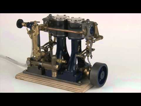 Stuart D10 Live Steam Model Marine Engine