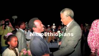Mengistu HaileMariam interview on Mandela