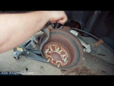 How To Replace Rear Rotors & Brake Pads on Most Cars (this one is a Pontiac G6)