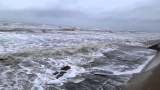 Tropical Storm Bill 10:15 am CT, Galveston Seawall