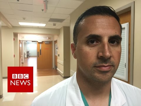 "Orlando medic: ""I can still see victims' faces"" - BBC News"